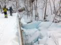 氷のカーテン
