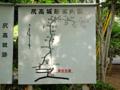 尻高城址地図