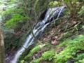 軽井沢の雄滝、雌滝