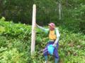 野反湖清掃活動