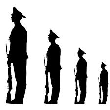 兵隊の意思