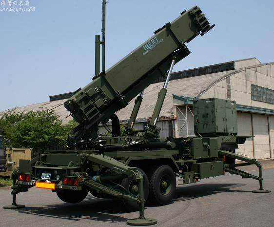 地対空誘導弾ペトリオットPAC−3
