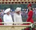-エリザベス女王&キャサリン妃