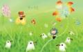 幻想的な草原