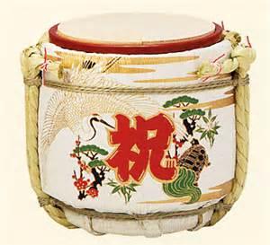個別「鏡開き 樽」の写真、画像 - akaibara's fotolife