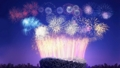 中国 北京の花火
