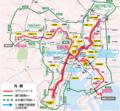 東京マラソン2015 コース地図