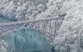 「第一只見川橋梁」福島、大沼郡三島町