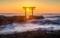 「神磯の鳥居と日の出」茨城, 大洗磯前神社