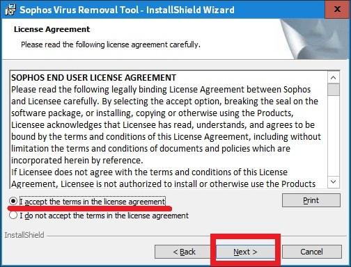 個別 sophos virus removal toolを日本語化する方法 の写真 画像