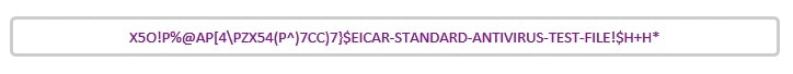 EICAR テストウイルスを使用してセキュリティソフトの動作を確認する方