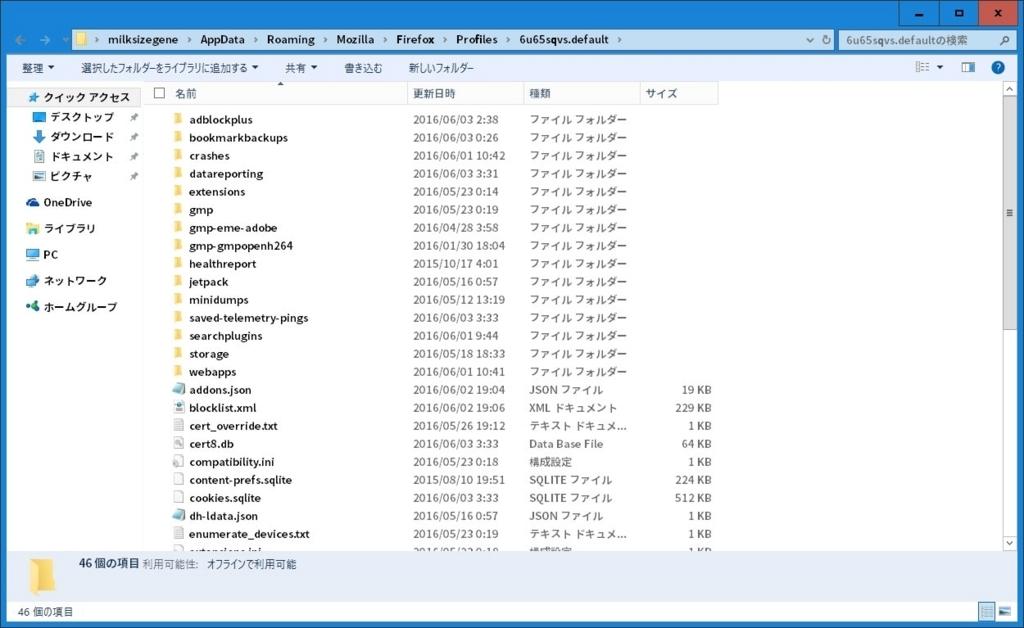 Windows OSで利用できる主要なWebブラウザの設定をバックアップする方法24