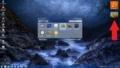 Windows 7のデスクトップにガジェットを追加する方法2