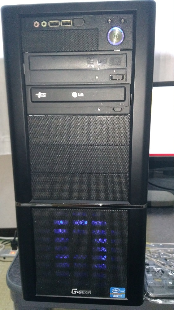 自作パソコンのケースファン交換10