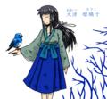 鳥かごの青い鳥
