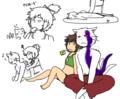 花子とネコと夏