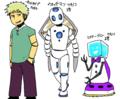 ヤシロ作ロボット