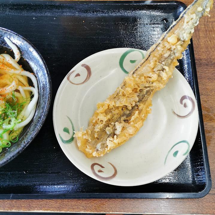 穴子の天ぷらの画像です