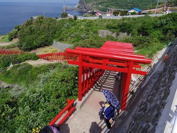 元乃隅稲成神社 入口