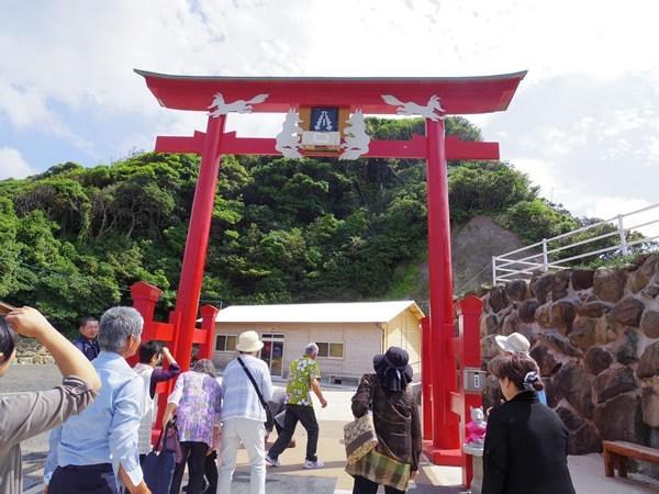 元乃隅稲成神社 賽銭箱