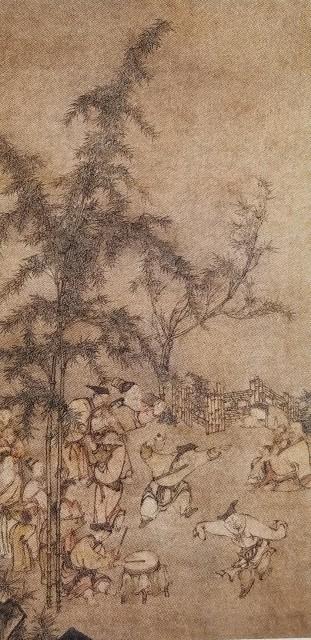 竹林の七賢」ー優雅なおじさまたちー - リアル絵描き日記