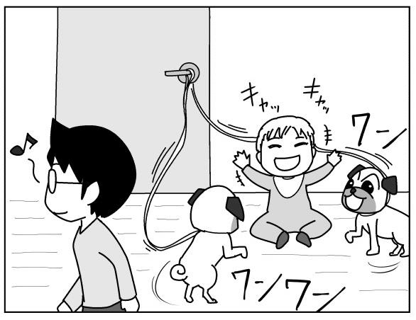 愛犬と仲良く遊んでいたときに…!一瞬の油断が招いた危険にヒヤリ byムーチョ