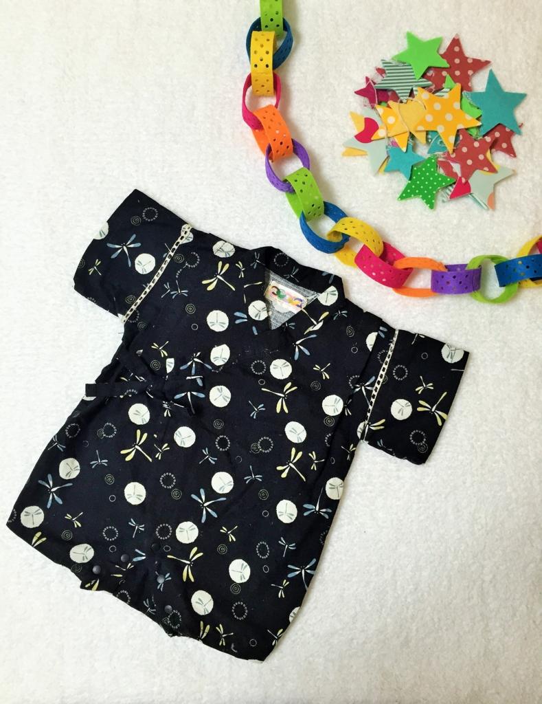 七夕はベビーも甚平でパチリ☆ 赤ちゃんのイベント服は、季節の行事に活用が◎