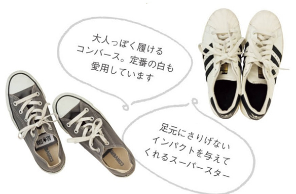 カジュアルが苦手な人でも!妊婦さん&ママの味方、大人スニーカーのススメ by Yoko