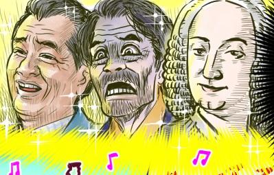 胎教に稲川淳二、若大将…!?好きなものを選んだらこうなった、高齢夫婦のカオスな胎教 by もづこ