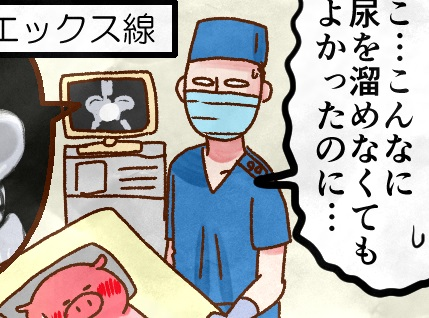 「早くして~ もれる~ もうダメ~」膀胱パンパンで失禁寸前!はじめての胚移植レポート by 肉子