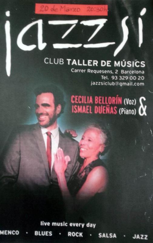 Cecilia Bellorín & Ismael Dueñas - Live at Jazzsí Club