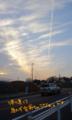 雲が綺麗だったので…久々に撮ったなー。あ、デジカメの充電器は実家