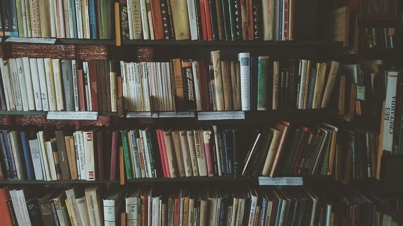 た本の整理