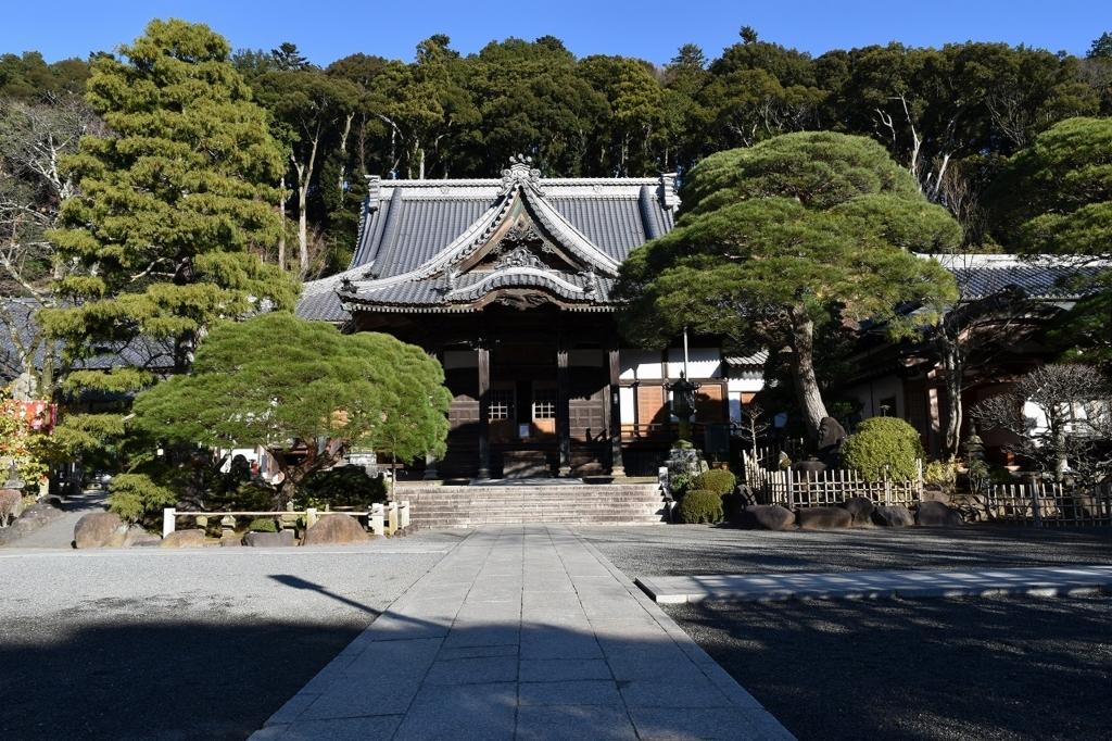 修禅寺の本殿