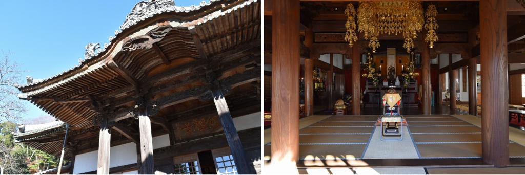 修善寺の境内