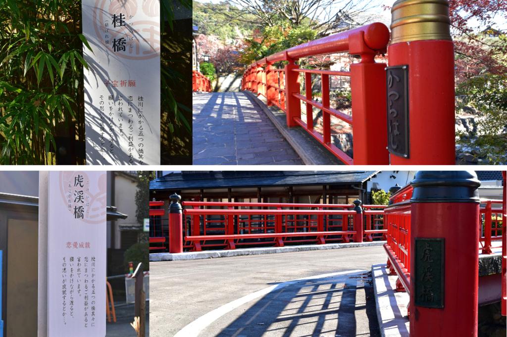 桂川の5つの橋