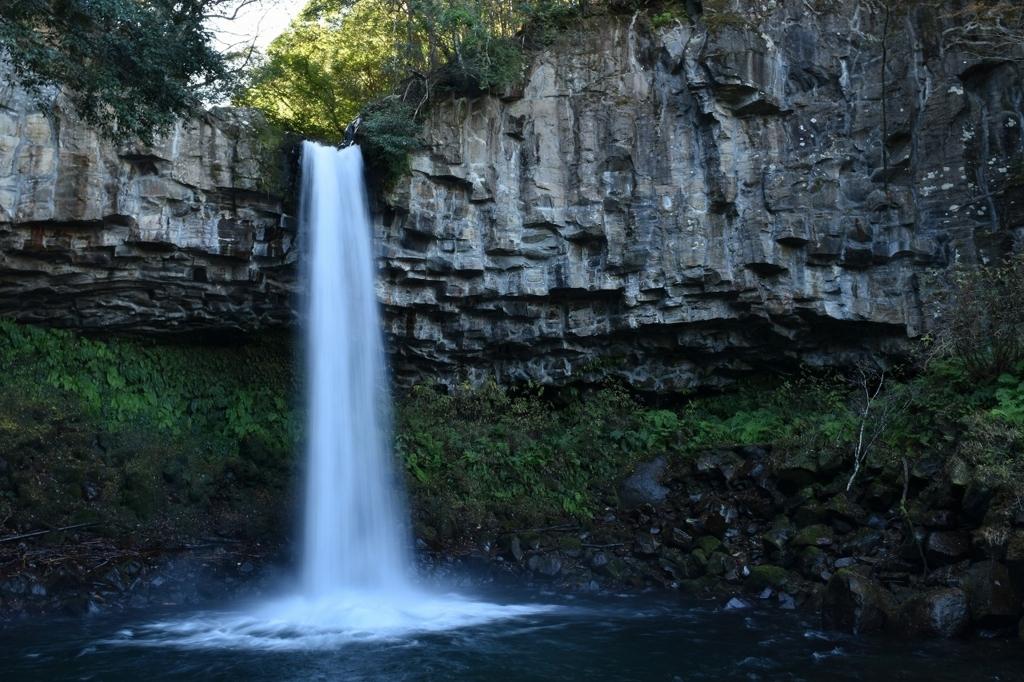 大滝は圧巻。萬城の滝