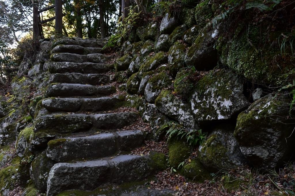 萬城の滝からの帰り道