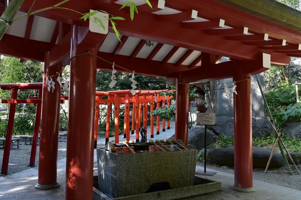 來宮神社の境内