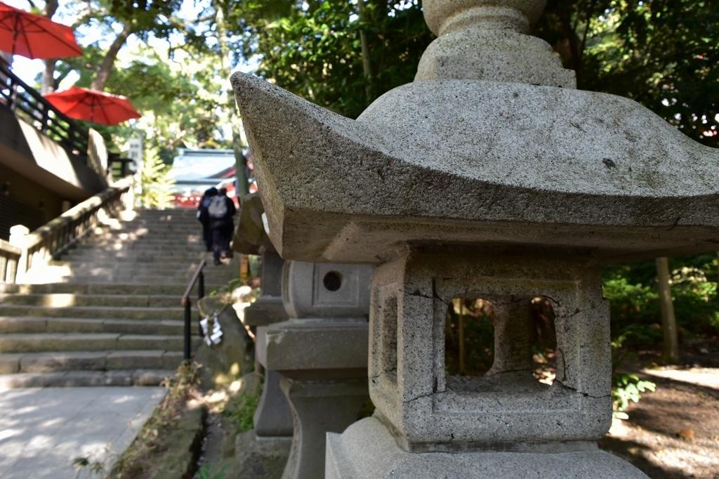 来宮神社の境内