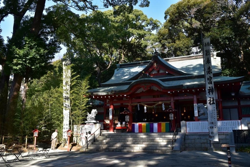 來宮神社の本殿