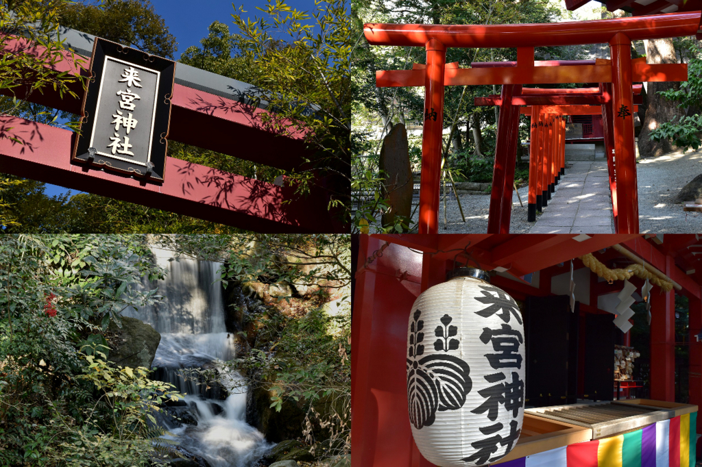 熱海の有名な神社の來宮神社