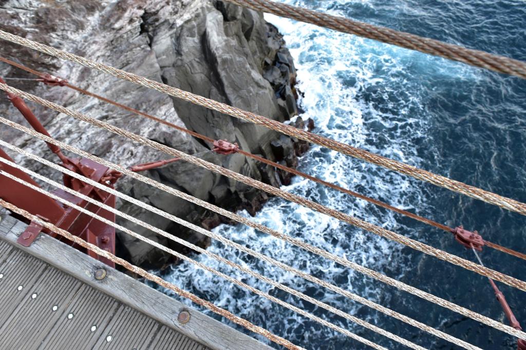 伊東市の門脇吊橋の絶景