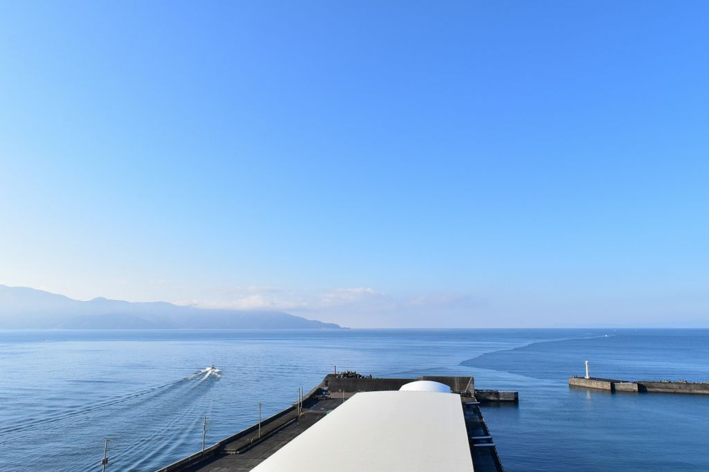 びゅうおから見た駿河湾