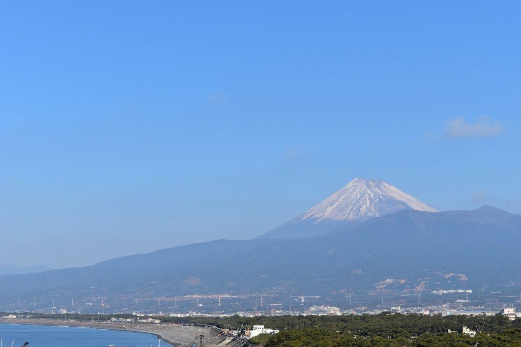 びゅうおから見た富士山