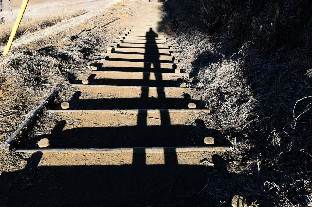 十里木高原展望からの下り坂
