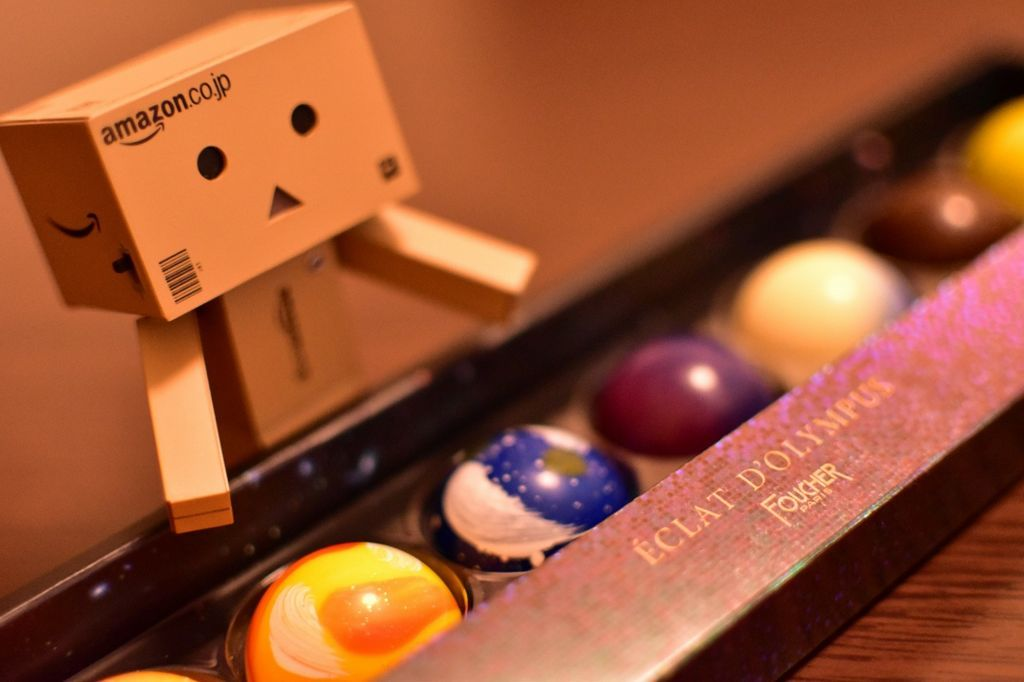 チョコレートとダンボー
