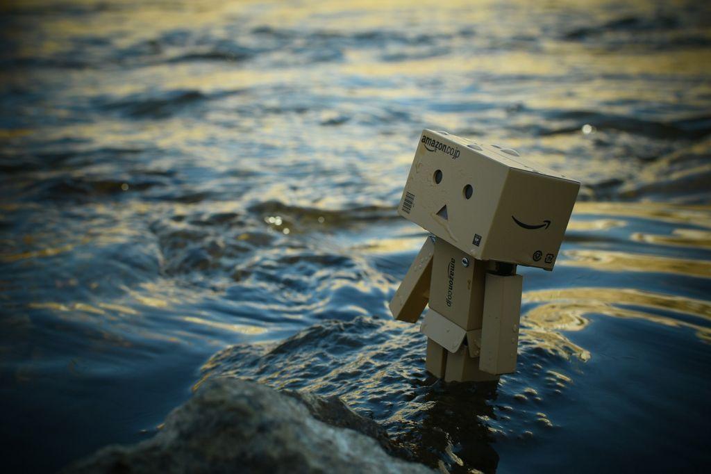 水辺とダンボー