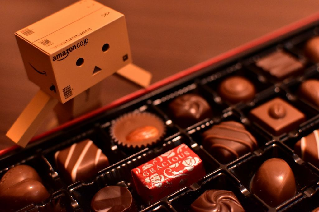 DANBOARD and chocolate