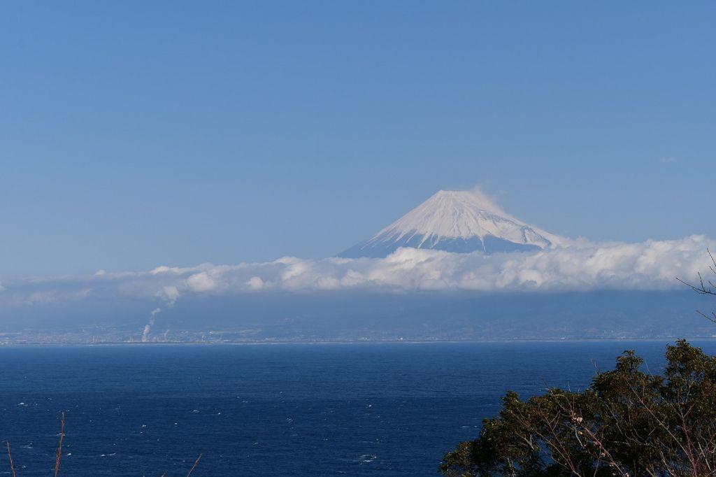 出逢い岬から眺めた富士山